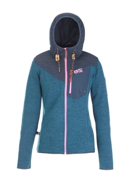 PICTURE – MODER JACKET PETROL BLAUW