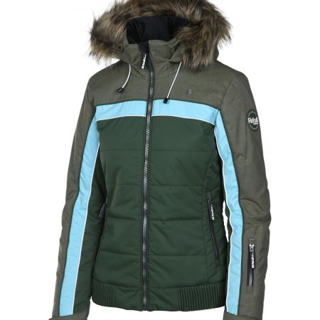 Rehall KATE-R-fur snowjacket leaf moss
